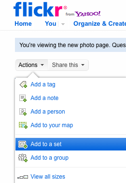 Adding a Flickr Slideshow